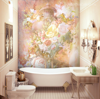Фотообои Ваза с цветами
