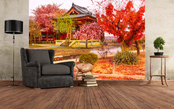 Осенний дворик
