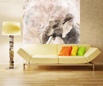 Фотообои Африканский слон