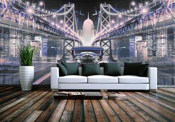 Фотообои Мосты ночью