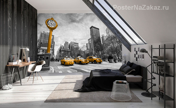 Фотообои Taxi. New York